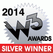 2014 W3 Silver Award for educational training